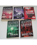 Lot of 7 Paperback Books by Heather Graham, Paranormal  - $17.00
