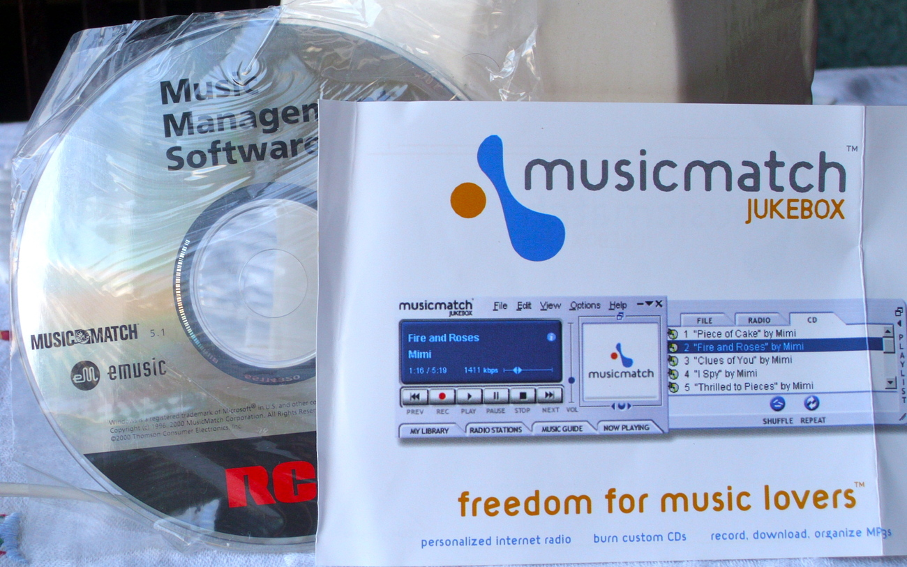 MusicMatch Jukebox Software