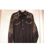 KIPPY'S Swarovski appr 1000 Crystals custom Black shirt sz S special ord... - $285.00