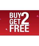MON-TUES APRIL 6-7 BUY ANY 2 GET 2 EQUAL OR LESSER VALUE FREE  DEAL MAGICK  - $0.00