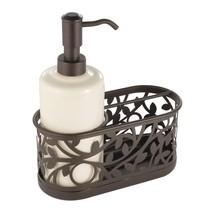 InterDesign Vine Soap Dispenser Pump and Sponge Caddy - Kitchen Sink Org... - $29.96