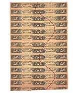 Island of Puerto Rico Internal Revenue tabaco tax 1/10 Cent strip of 13 - $56.00