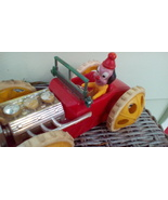 TAT Roll Over Clown Car.   Vintage Battery Toy Made in Hong Kong.  Y-033 - $43.00