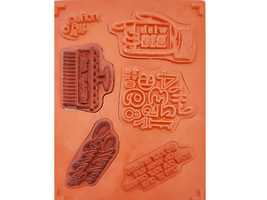 Stampin' Up! Bring on the Cake Rubber Stamp Set #121958 image 2