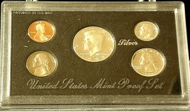 1993 Uncirculated United States Mint Silver Proof Set AA20-CN7022