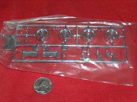 2004 Revell Kit 2534 Shelby 1/25 Series 1 Skill 2 OEM Replacement Chrome Parts - $12.06
