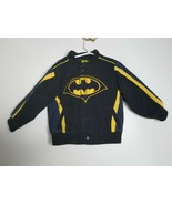 JH Design Quality Jackets 3T BATMAN Heavy Weight Button Up Jacket - $18.99