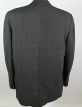 Hart Schaffner Marx Men's size 40R Gray Plaid Wool Blazer Sport Coat Jacket - $39.60