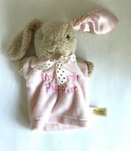 DanDee Dan Dee Pink Plush My First Puppet Bunny Rabbit Toy w Satin Ears ... - $14.99
