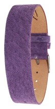Moog Paris Mat Purple Pecari Leather Bracelet for Women, Pin Clasp, 18mm... - $46.65