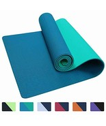 IUGA Yoga Mat Non Slip Textured Surface, Reversible Dual Color, Eco Frie... - $26.07