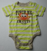 Infant Baby Boys 3-6 months Old Navy Pinch Me I'm Cute Shirt - $3.00