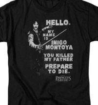 "The Princess Bride retro t-shirt ""My name is Inigo Montoya"" graphic tee PB125 image 3"