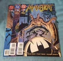 Man-Bat #1-3 Complete Mini Series Set - 1996 DC Comics - $7.00