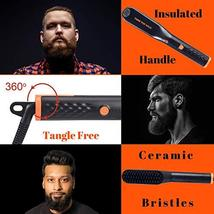 Tame's Easy Glide Beard Straightener - Fast Anti-Scald Beard Straightening Comb  image 7