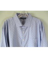 Tommy Hilfiger Men's Size XL Long Sleeve 100% Cotton Button-Front w/ Pocket - $20.80
