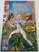 Silver Sable & The Wild Pack #1 Embossed Cover 1992 Marvel Comics (NM) - $4.99