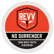 Revv No Surrender Coffee, 96 K Cups, Free Shipping - $64.99