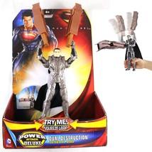 General Zod Dual Destruction Power Attack Deluxe Figure Super Man Man Of Steel - $8.62