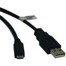 Tripp Lite U050-003 USB 2.0 Hi-Speed A-Male to Micro B-Male Cable (3ft) - $19.99