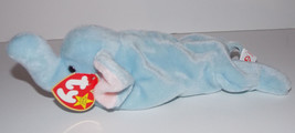 Ty Beanie Baby Peanut Plush 9in Elephant Stuffed Animal Retired with Tag... - $9.99