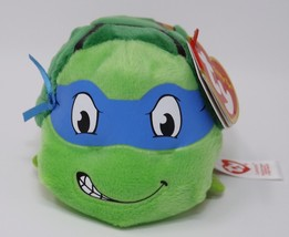 Teeny Ty Mini Soft Plush Stuffed - New - TMNT Leonardo - $8.54