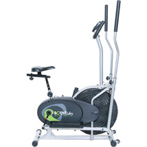 Upright Elliptical Fitness Exercise Bike Gym Machine Equipment Cardio Wo... - $200.63