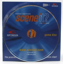 Scene It Movie Edition Replacement DVD Disc Game Part Piece - $7.99