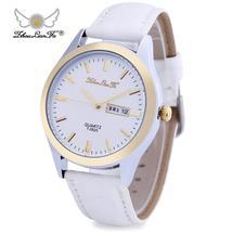 ZhouLianFa 0620 Men Quartz Watch Day Date Display 3ATM Wristwatch - $30.61