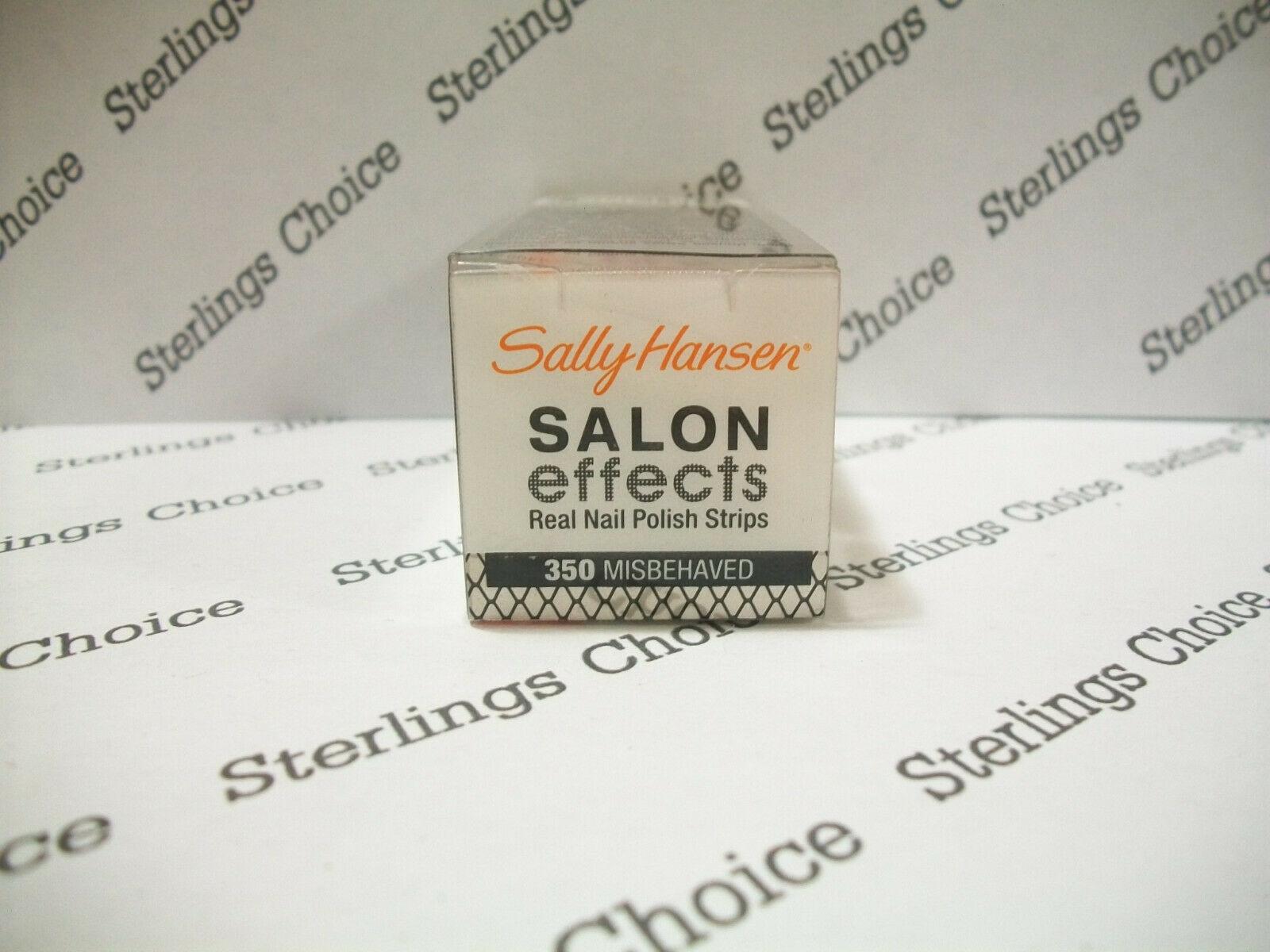 Sally Hansen Salon Effects Nail Polish Strips #350 Misbehaved