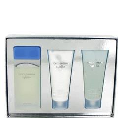 Dolce   gabbana light blue perfume set