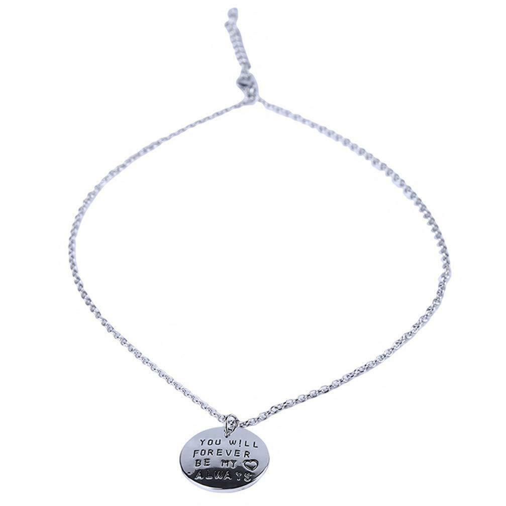 """""""You Will Forever Be My Always"""" Necklace For Men or Women  image 5"""