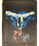 Venom by Jock ARTIST SIGNED 24x36 Grey Matter Art Print 96/125 Thunderbo... - $123.45
