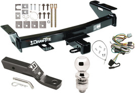 1997-1998 PONTIAC TRANS SPORT COMPLETE TRAILER HITCH PACKAGE W/ WIRING KIT - $229.93