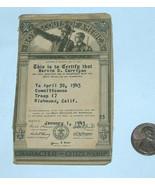 1943 BSA Boy Scouts of America National Council RARE Character Citizensh... - $12.85