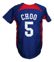 Shin-Soo Choo South Korea Baseball Jersey Button Down Blue Any Size image 2
