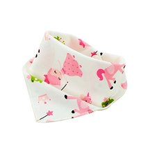 Lovely 4Pcs Baby Neckerchief/Saliva Towel For Baby,Pure Cotton Adjustable