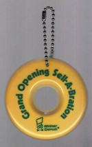Mister Donut Grand Opening Sell-A-Bration Doughnut Keychain Ornament - $13.85