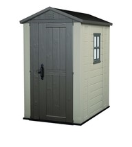 Keter Factor Large 4 x 6 ft. Resin Outdoor Backyard Garden Storage Shed - $653.88