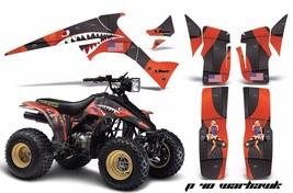 ATV Graphics Kit Decal Sticker Wrap For Suzuki Quadrunner LTR230 85-93 WARHAWK O - $168.25