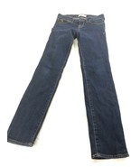 Abercrombie Kids Girls Skinny Blue Jeans 12 - $17.81