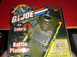 G.I.Joe vs Cobra Blattle Planner Hasbro Tiger Electronic 2002 Gi Joe - $14.00