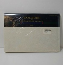 Twin Flat Sheet Colours by Alexander Julian Alabaster Dan River - $19.34