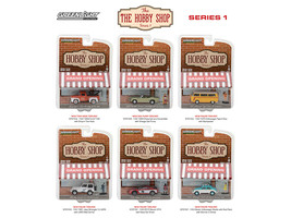 The Hobby Shop Series 1, 6pc Diecast Car Set 1/64 Diecast Model Cars by ... - $52.78