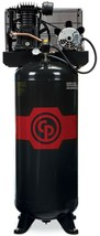 Chicago Pneumatic RCP-4961VNS 5HP 2Stage 230V 1PH 60 Gal vertical air co... - $1,584.00