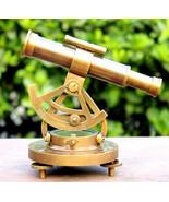 Handmade Retro Design Alidade Telescope Compass Vintage Navigation Alida... - $36.31