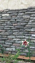 #ODL-03 Ledgestone Veneer 14 Stone Mold Set Make 100s Custom Concrete Wall Rocks image 7