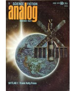 ANALOG SCIENCE FICTION MAGAZINE JUN 1973 FINE RARE - $4.95