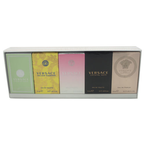 Versace Miniatures Collection by Versace for Women - 5 Pc Mini Gift Set for sale  USA