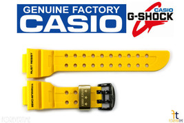 CASIO G-SHOCK FROGMAN GWF-T1030E-9 Original Yellow Rubber Watch BAND Strap - $169.95